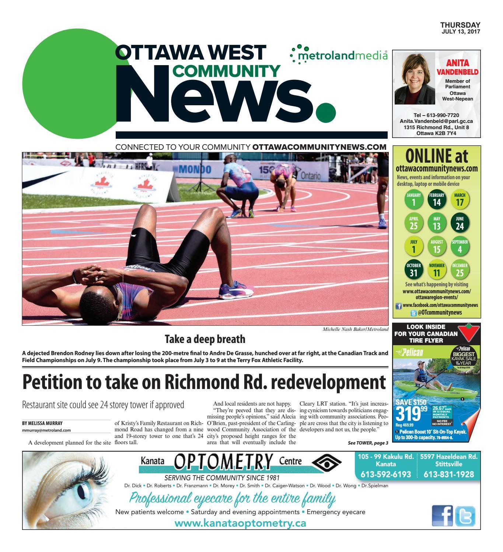 Ottawawest071317 By Metroland East