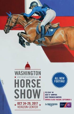 Wihs Prize List 2017 By Washington International Horse Show Issuu