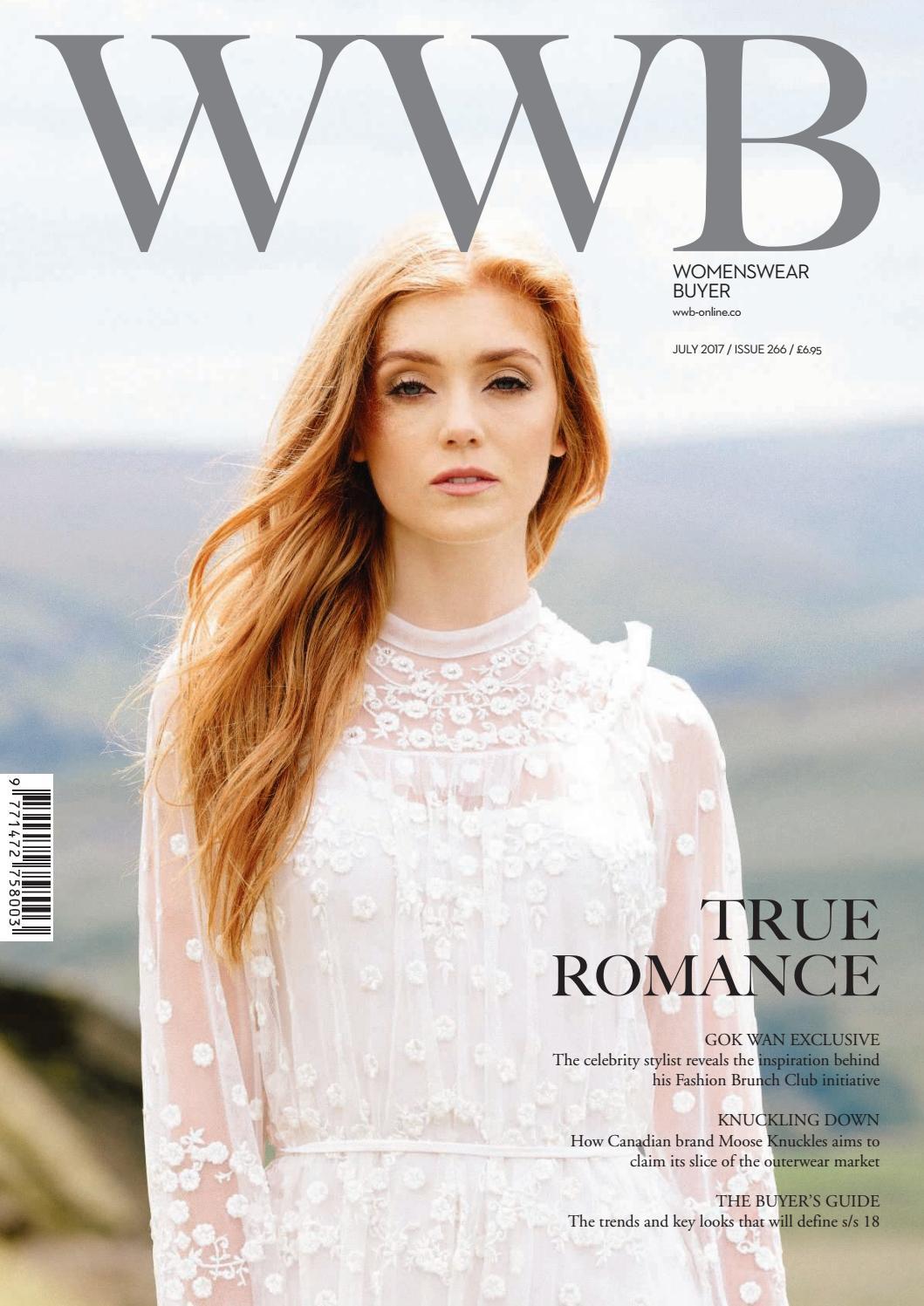 bad2467f8 WWB MAGAZINE JULY 2017 ISSUE 266 by fashion buyers Ltd - issuu