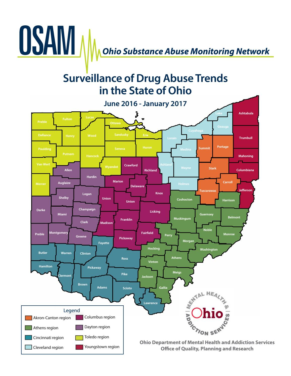 Drug abuse trends in the state of Ohio by The Columbus