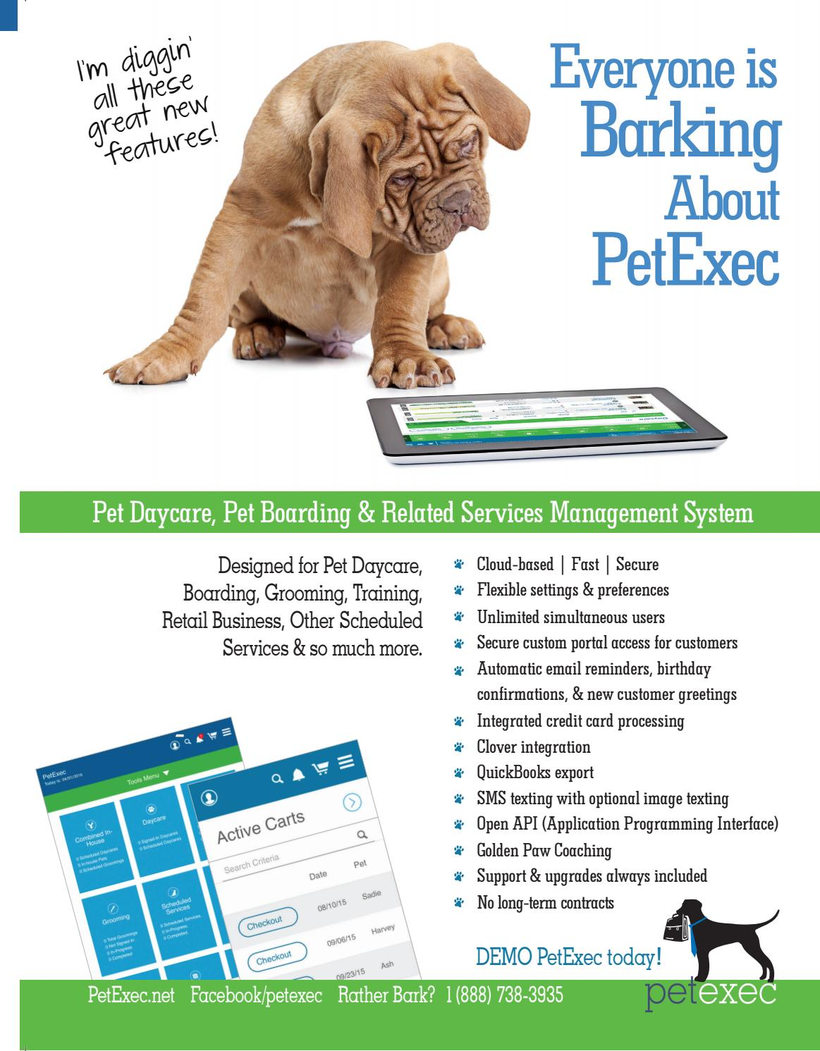 Pet Boarding and Daycare July August 2017 by Barkleigh