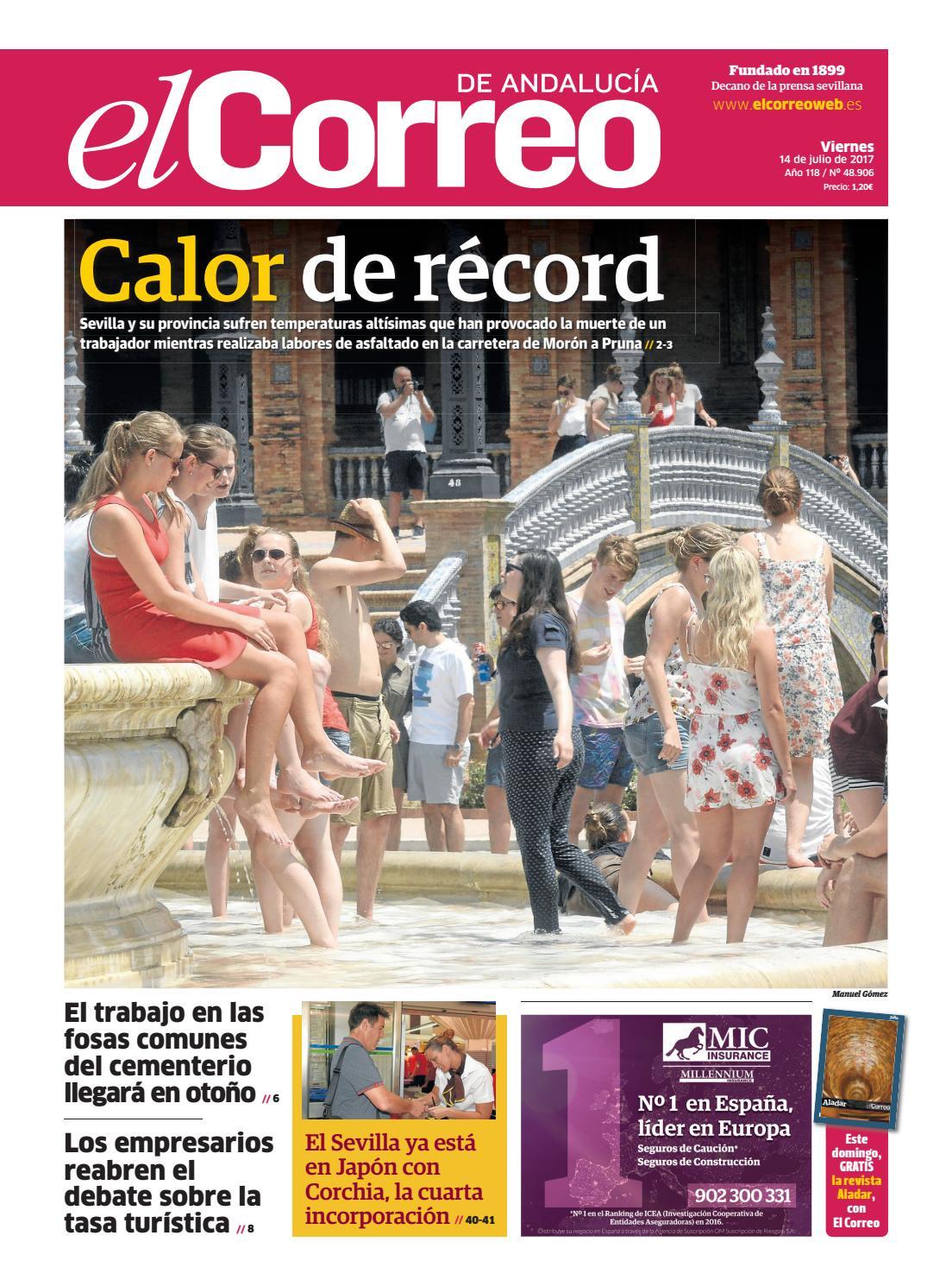 14 07 2017 El Correo De Andaluc A By El Correo De Andaluc A S L  # Muebles Villalobos Ciales
