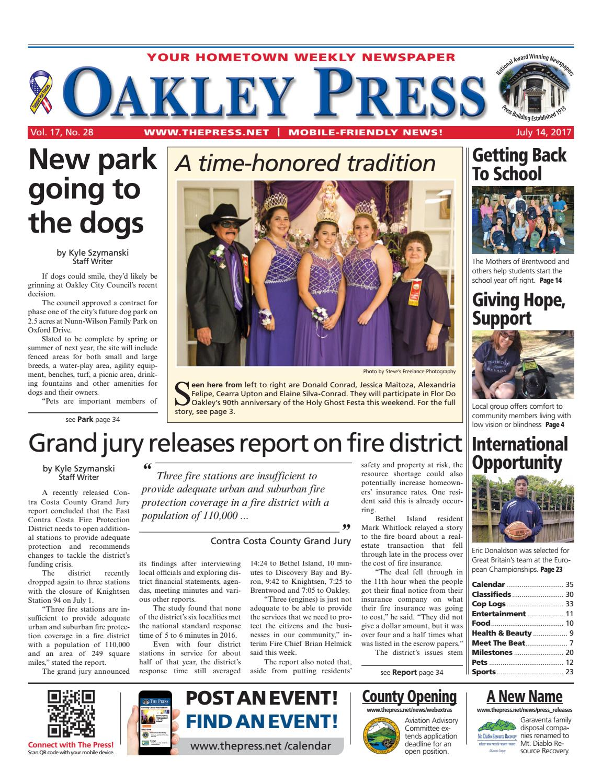 b33536aba8 Oakley Press 07.14.17 by Brentwood Press   Publishing - issuu