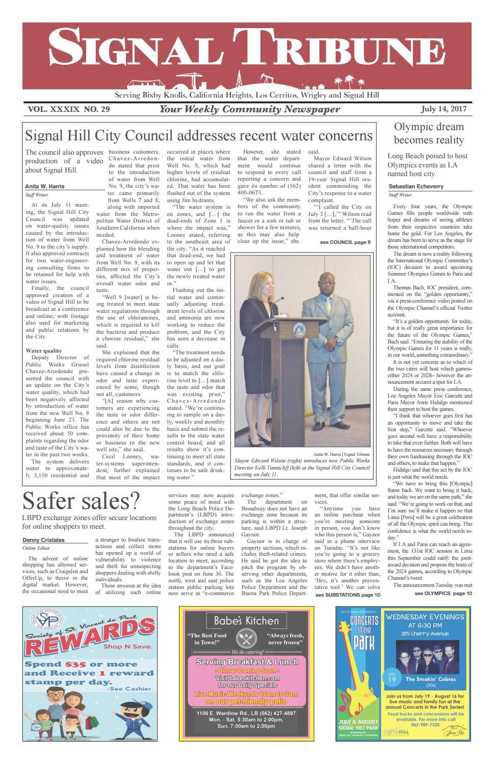 Signal Tribune July 14, 2017 by Signal Tribune - issuu
