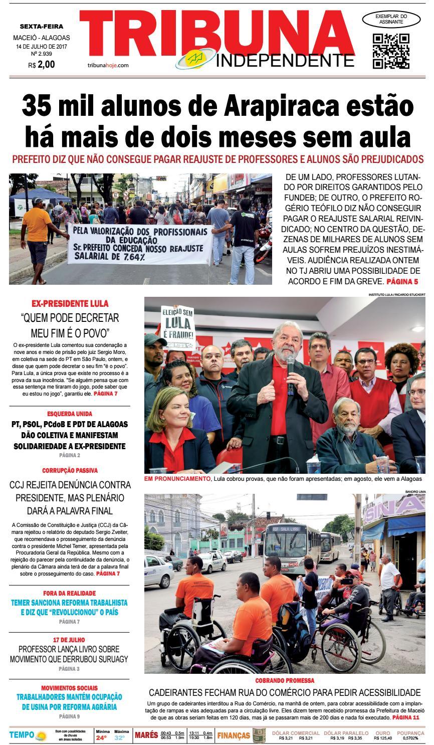 Edição número 2939 - 14 de julho de 2017 by Tribuna Hoje - issuu 98de7feaed
