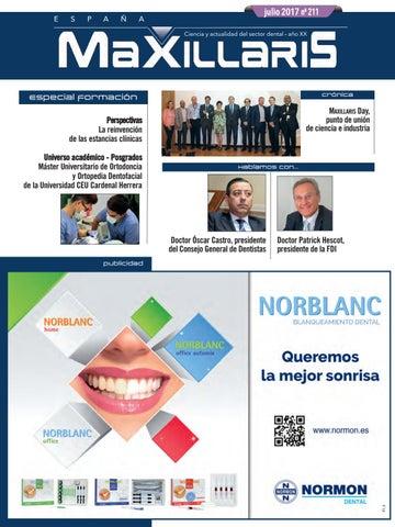 Revista MAXILLARIS número 211 julio by CYAN EDITORES 750f74f339370
