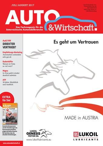 Auto & Wirtschaft 07-08/2017 by A&W Verlag GmbH - issuu