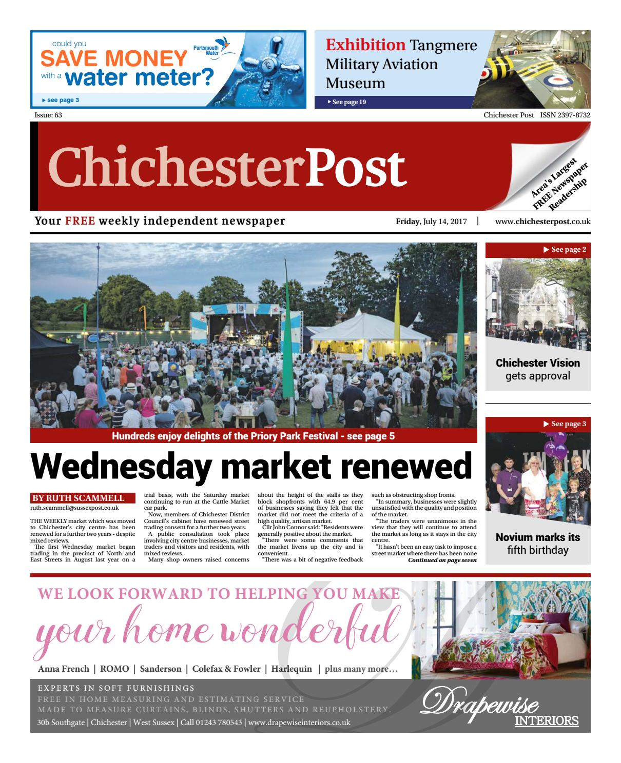 Chichester Post Issue 63 By Newspapers Issuu Meter An Alternative Circuit The Primary Consists Of A Brassplates