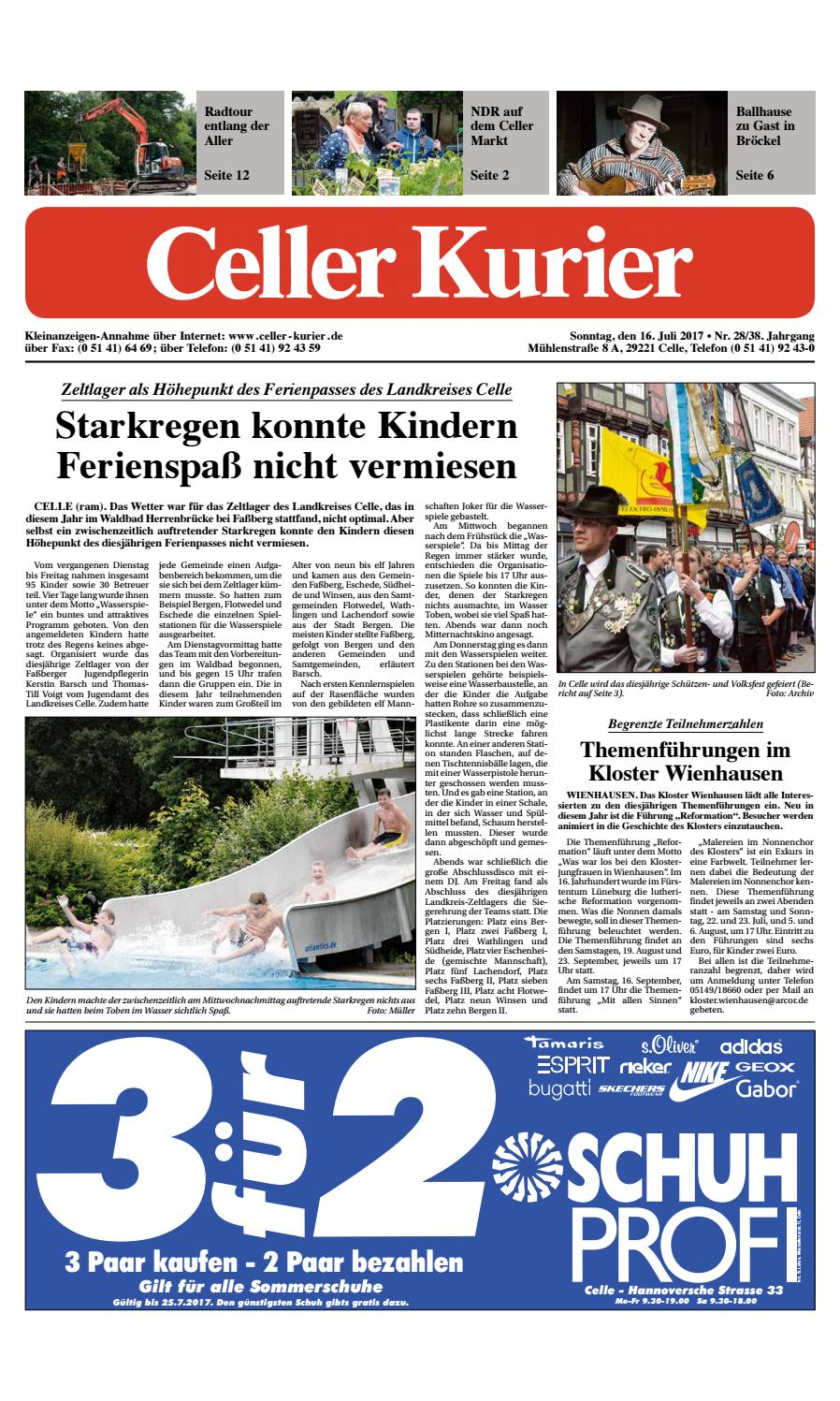 KW12 Celler Kurier Ausgabe Sonntag by Celler Kurier - issuu
