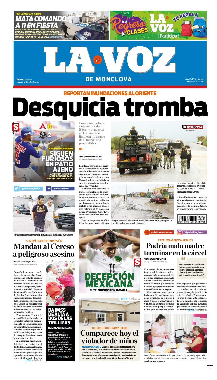 24 De Julio By La Voz Monclova Issuu # Muebles Vega Monclova