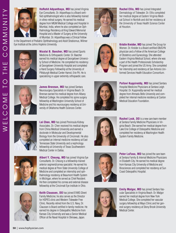 Hampton Roads Physician Summer 2017 by Hampton Roads Physician