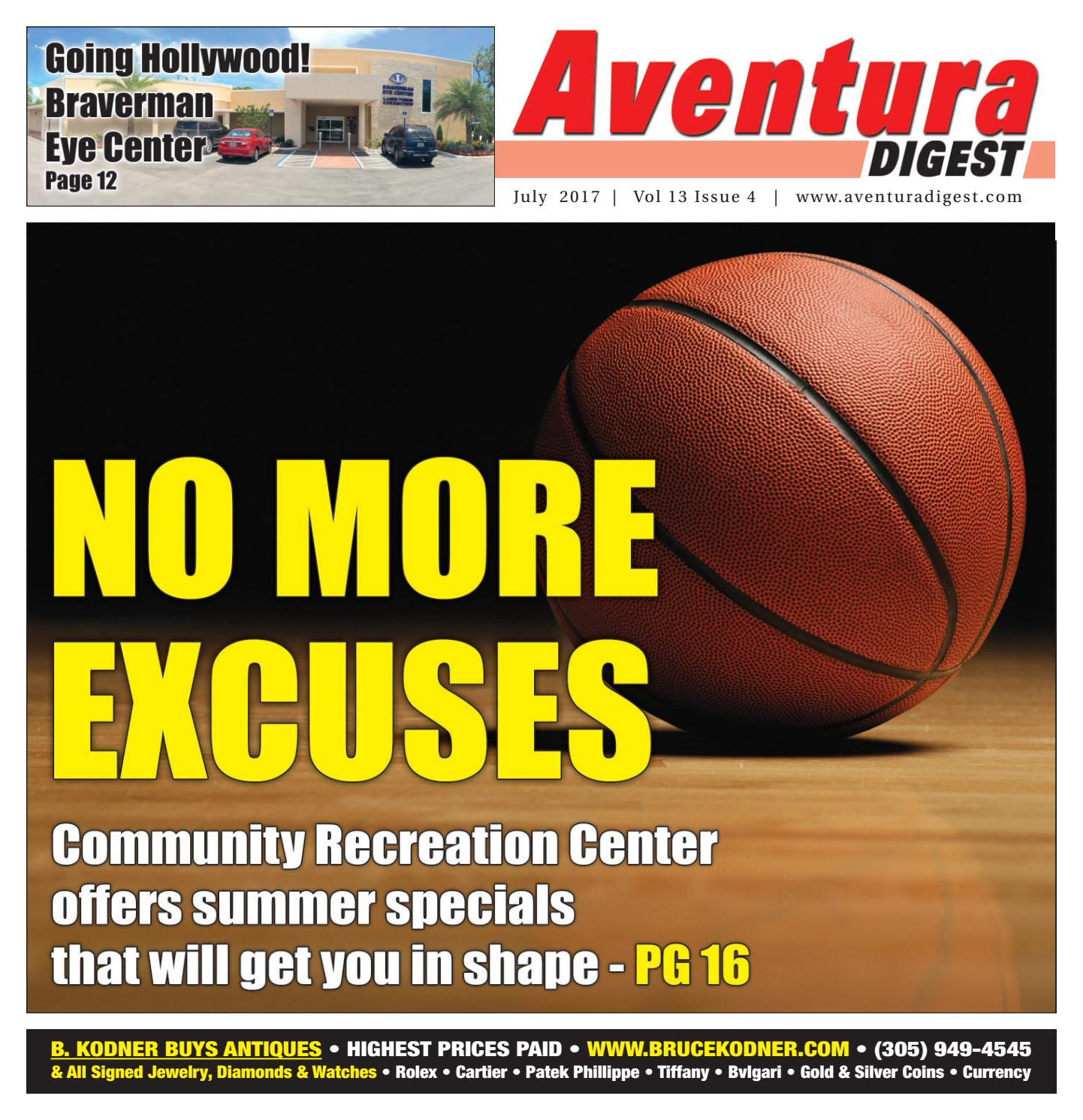 July 2017 Aventura Digest by The South Florida Sun Times Newspaper