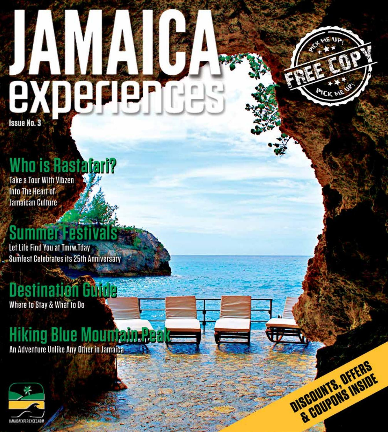 Jamaica experiences digital newspaper issue 3 by JamaicaExperiences