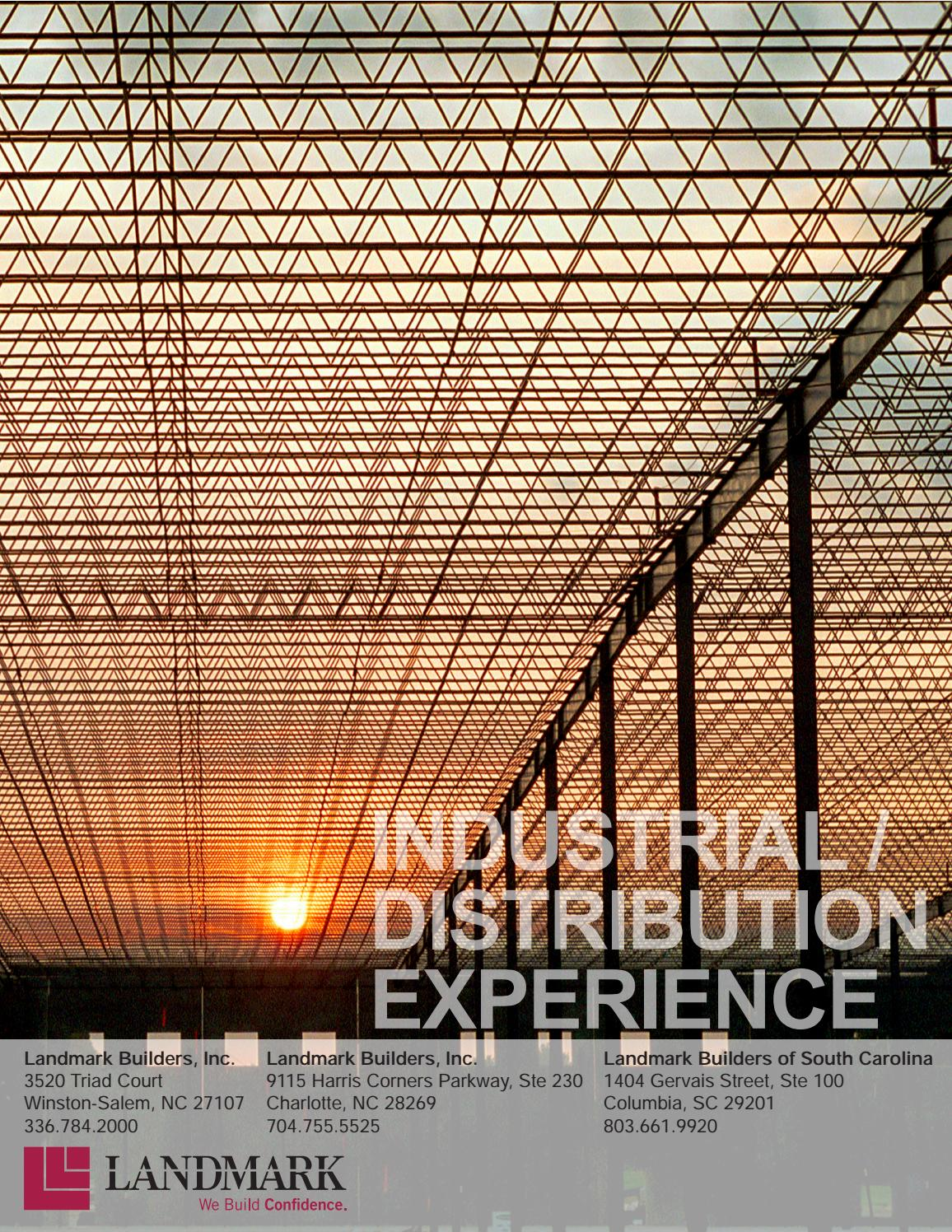 Industrial Distribution Overview By Landmark Builders