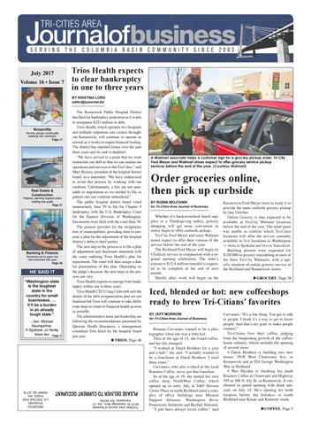 Tri Cities Area Journal Of Business July 2017