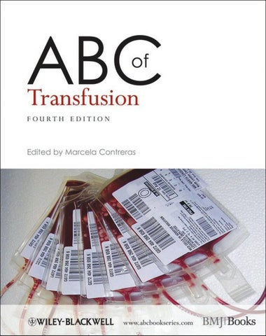 Abc transfusion 4ed by labtestksa issuu transfusion fourth edition e d i te d b y fandeluxe Images