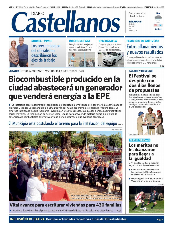 be6345e44460e Diario Castellanos 15 07 by Diario Castellanos - issuu