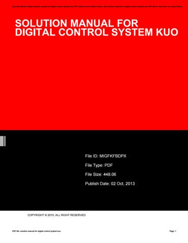 The complete amazon marketing system making product photos by cover of solution manual for digital control system fandeluxe Image collections