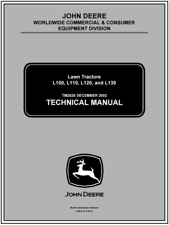 John deere l120 lawn garden tractor service repair manual by jhsnjf7ud -  issuuIssuu