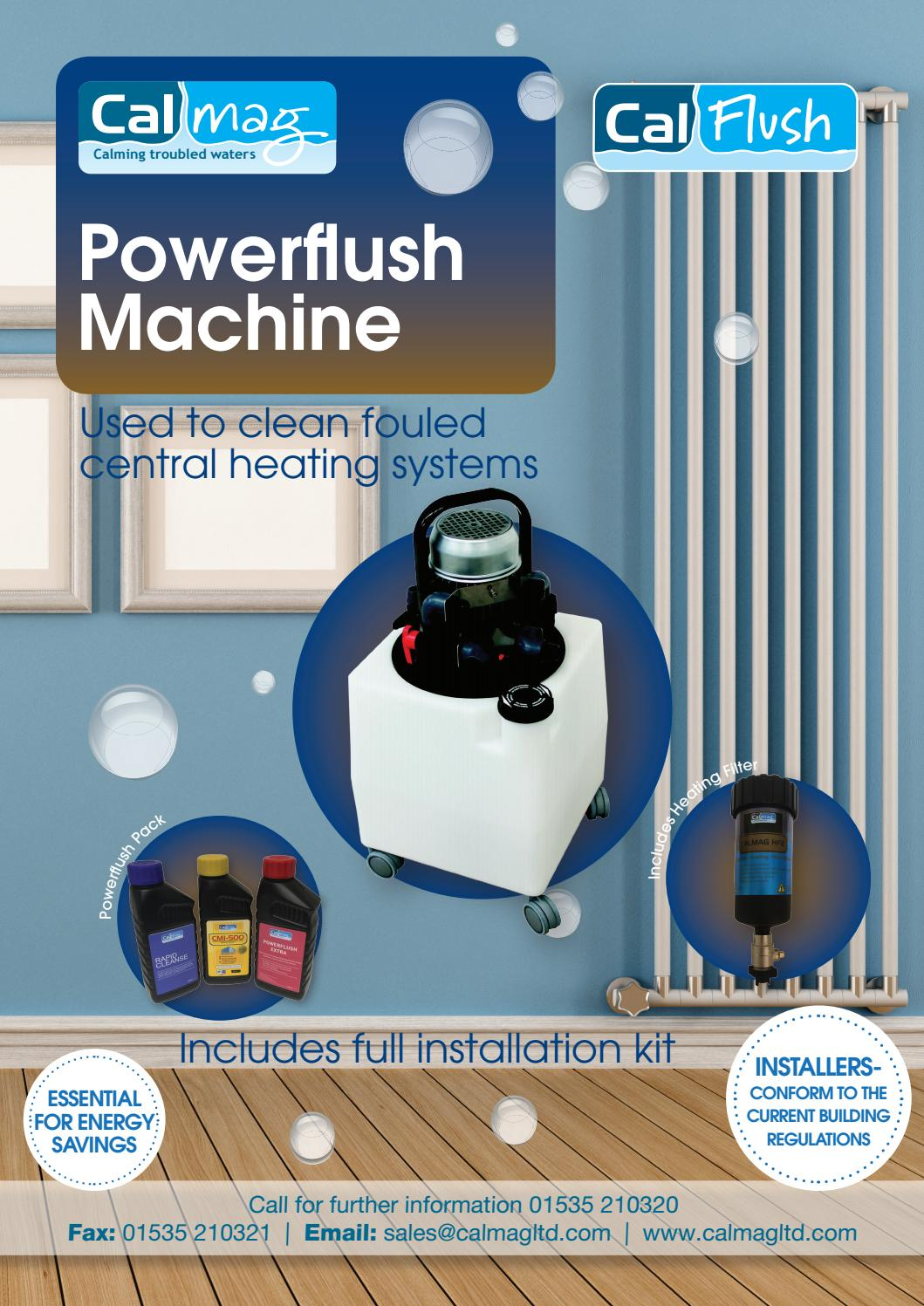 Calmag Powerflush brochure 2017 by Creative and Marketing - issuu