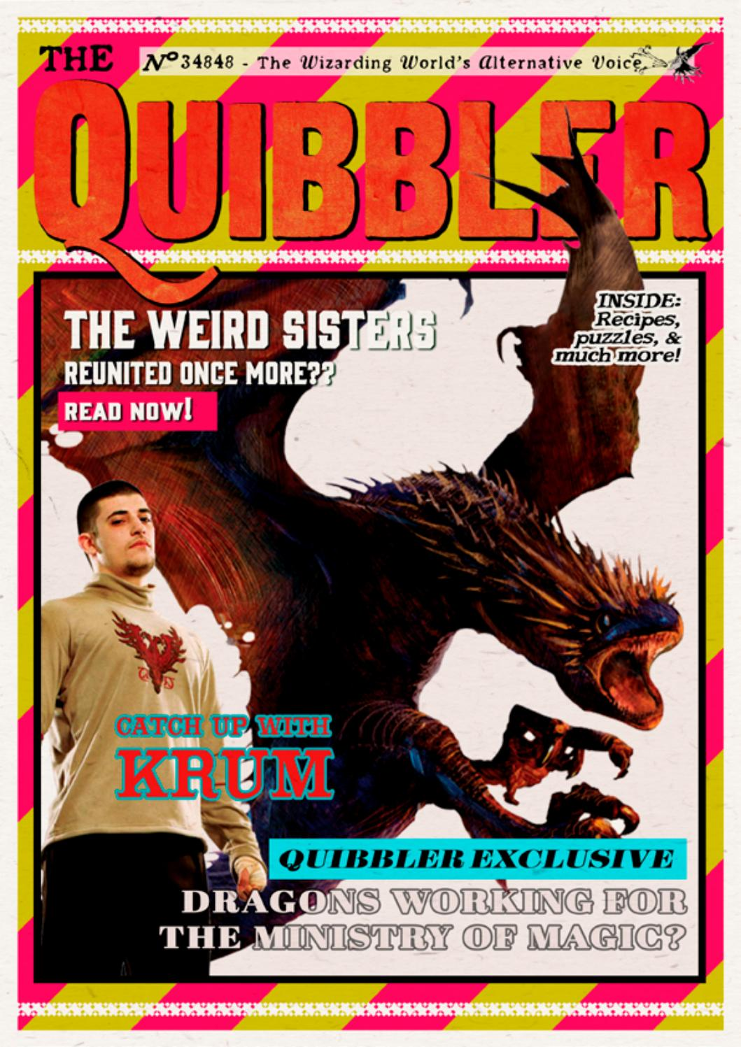 The Quibbler - Summer 2017 by Hogwarts Quibbler - issuu