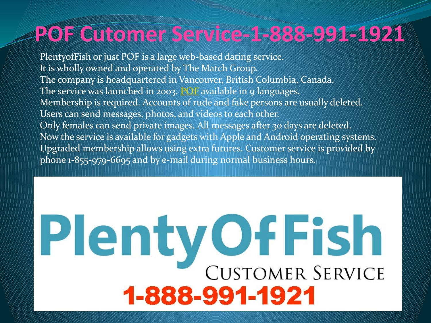pof customer service number 1888 991 1921 pof technical support