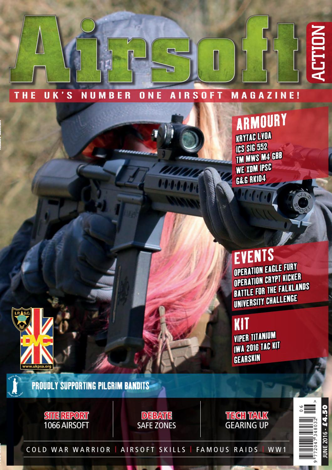 Issue 62 June 2016 by Airsoft Action Magazine issuu