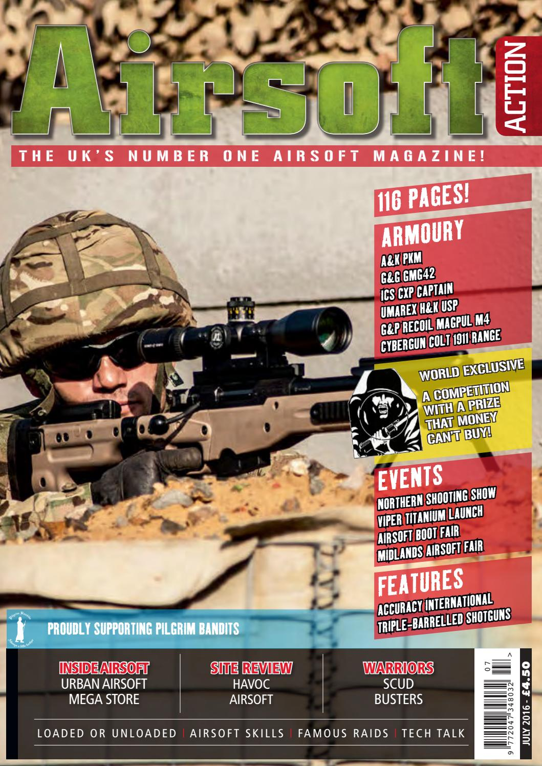 Issue 63 - July 2016 by Airsoft Action Magazine - issuu