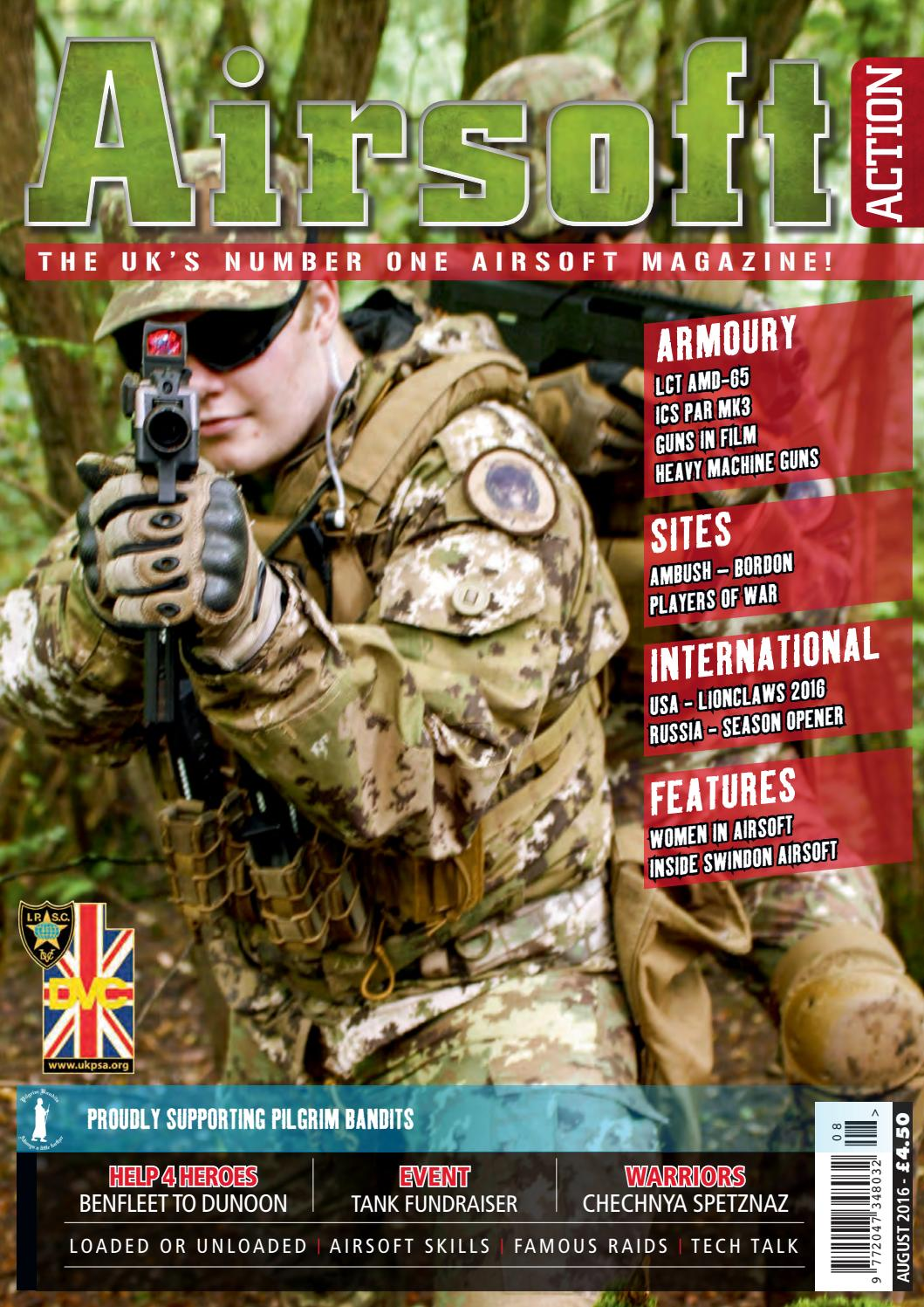 Issue 64 - August 2016 by Airsoft Action Magazine - issuu