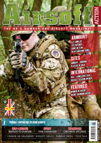 ac90d1d1 Issue 64 - August 2016 by Airsoft Action Magazine - issuu
