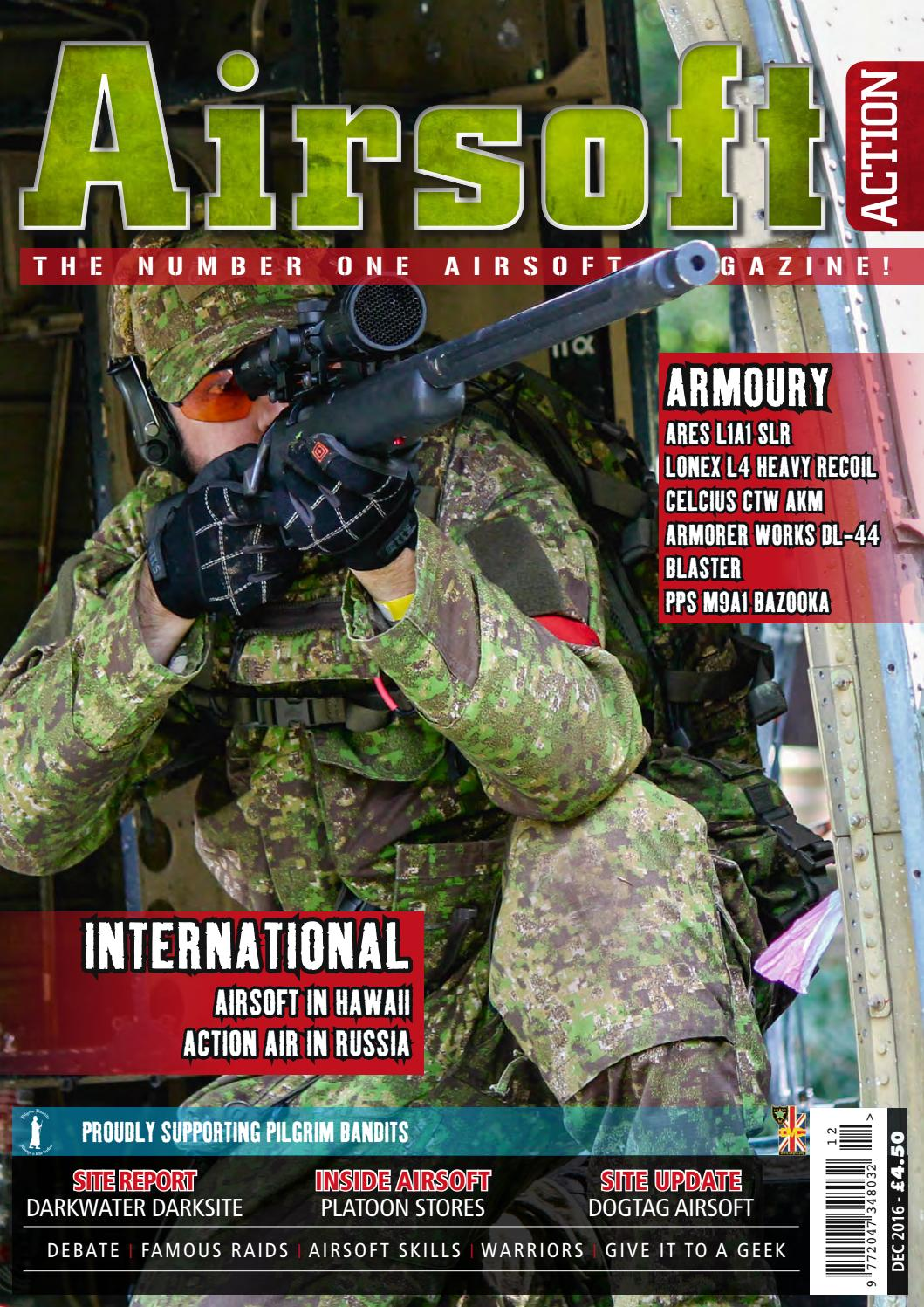 Issue 68 December 2016 by Airsoft Action Magazine issuu