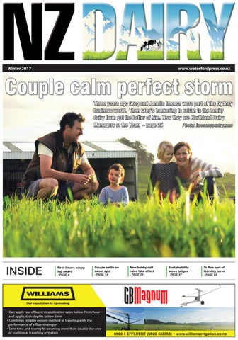 NZ Dairy (Issue 2) Winter 2017 by Waterford Press Limited