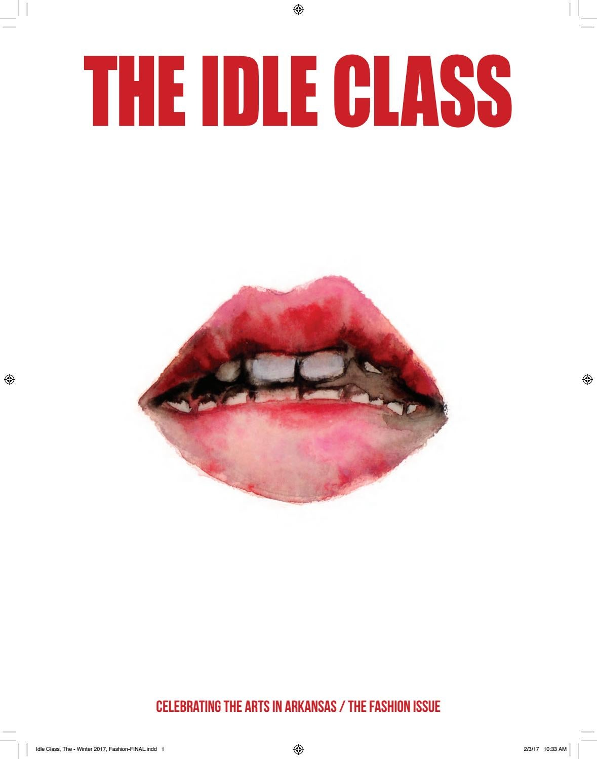 b0cbd73229 THE IDLE CLASS - FASHION ISSUE 2017 by The Idle Class - issuu