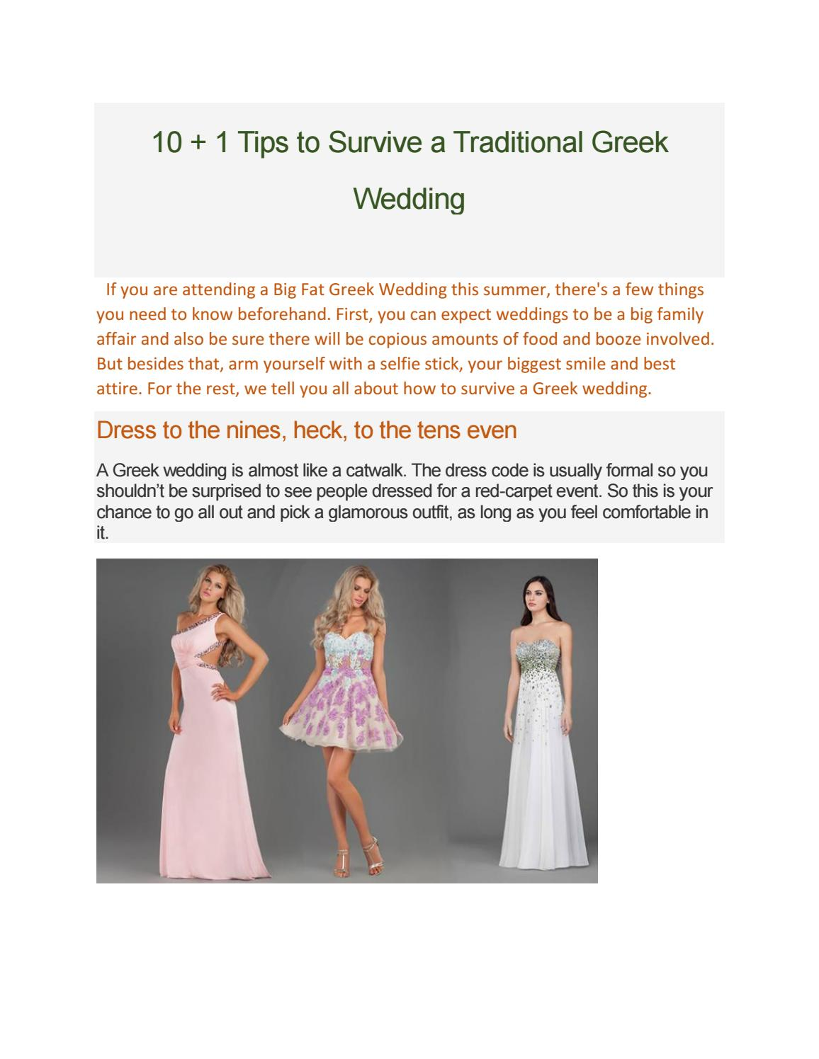 10 1 tips to survive a traditional greek wedding by