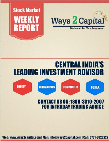 Equity Research Report 17 July 2017 Ways2Capital by