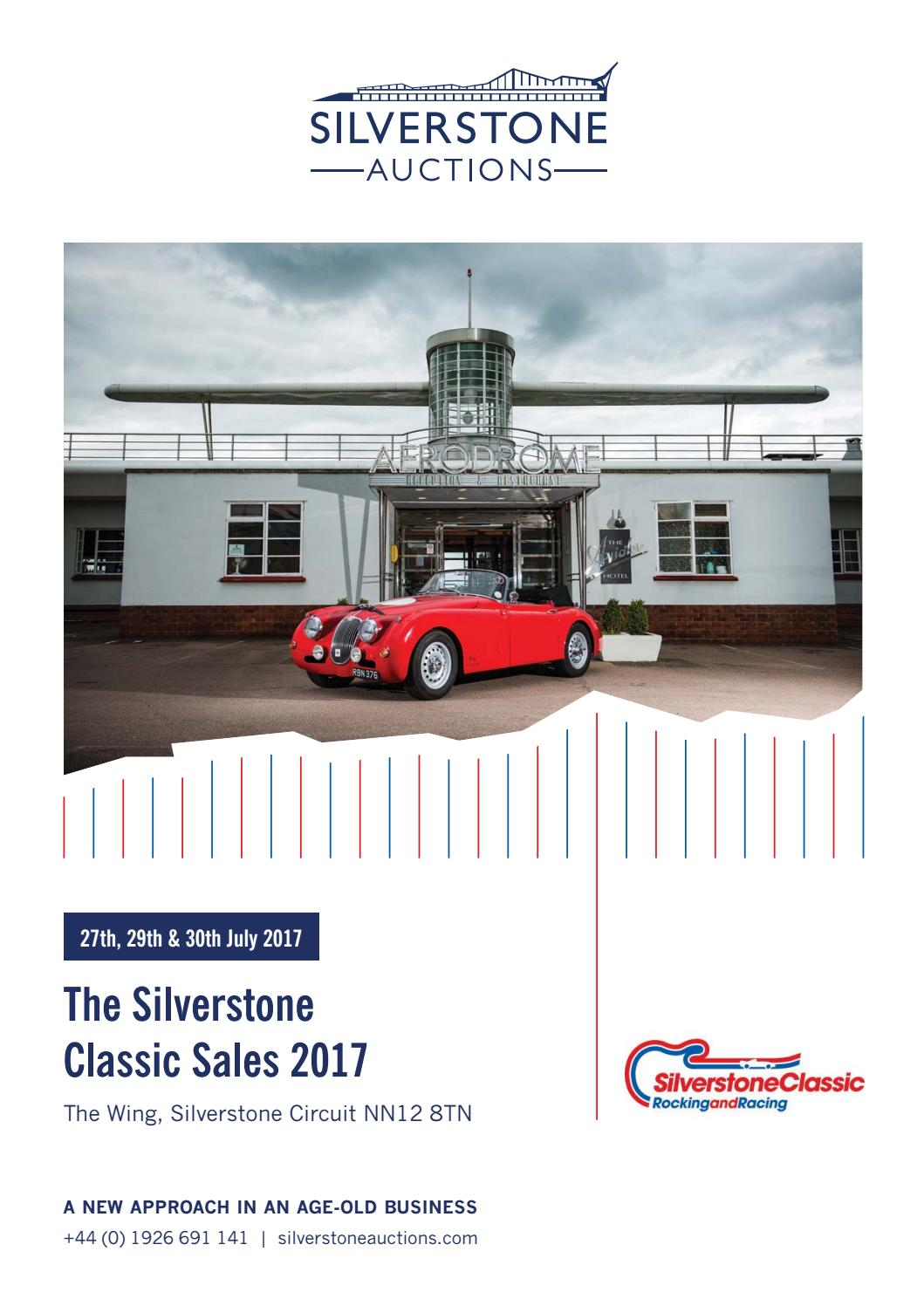 Silverstone Auctions The Classic Sales July 2017 By Vacuum Cleaner Modena Puro Vc 1350 135 Liter 600 Watt Issuu