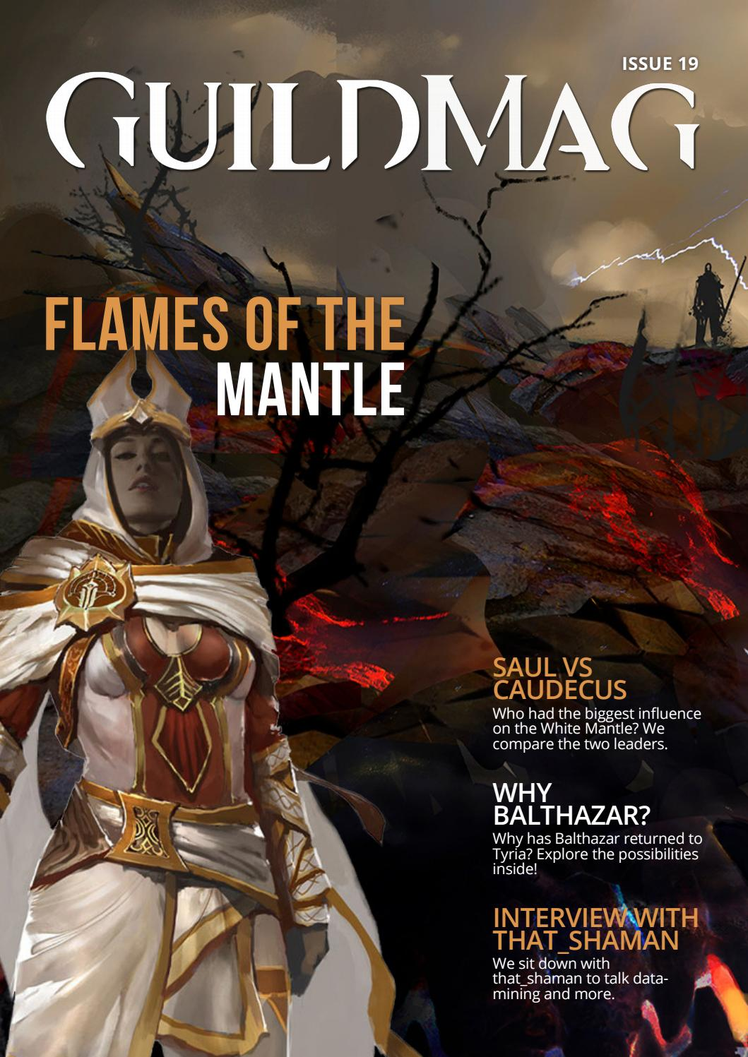 GuildMag Issue 19: Flames of the Mantle by GuildMag - issuu