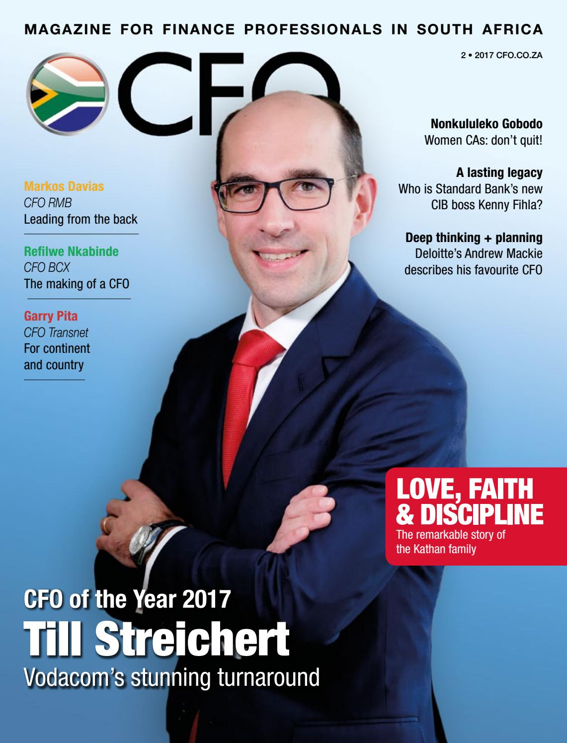 afe286f4cd38 CFO Magazine South Africa - 2017 - 2nd issue by CFO South Africa - issuu