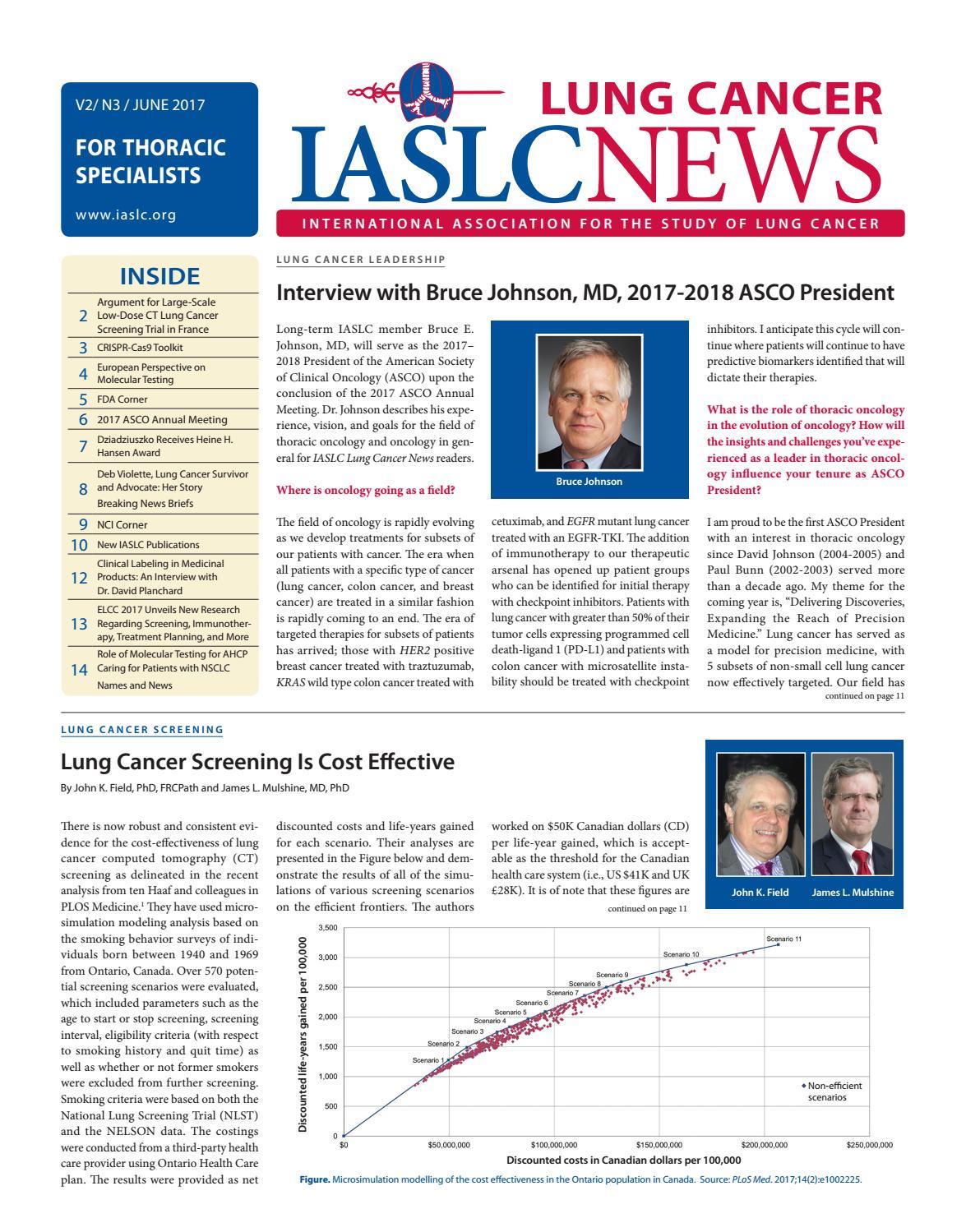 IASLC Lung Cancer News - V2, N3