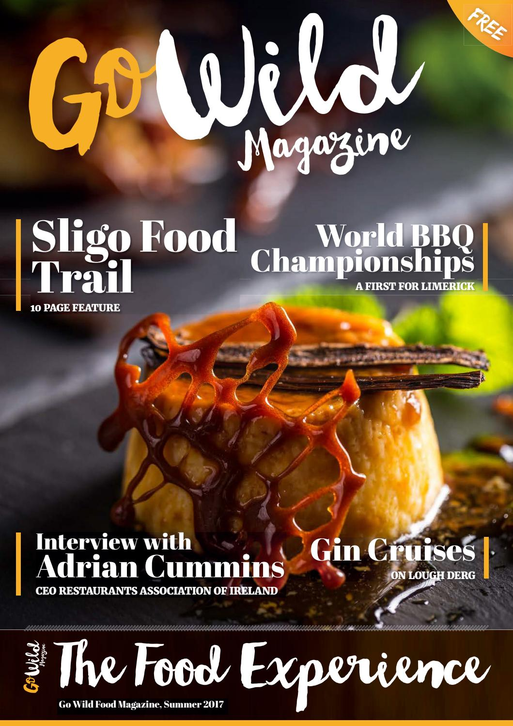 Go Wild Magazine The Food Experience Issue 9 By Silver Queen Montes 50g Issuu