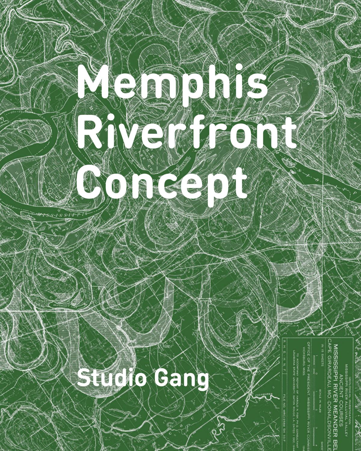 Memphis Riverfront Concept (c) studio gang by Studio Gang
