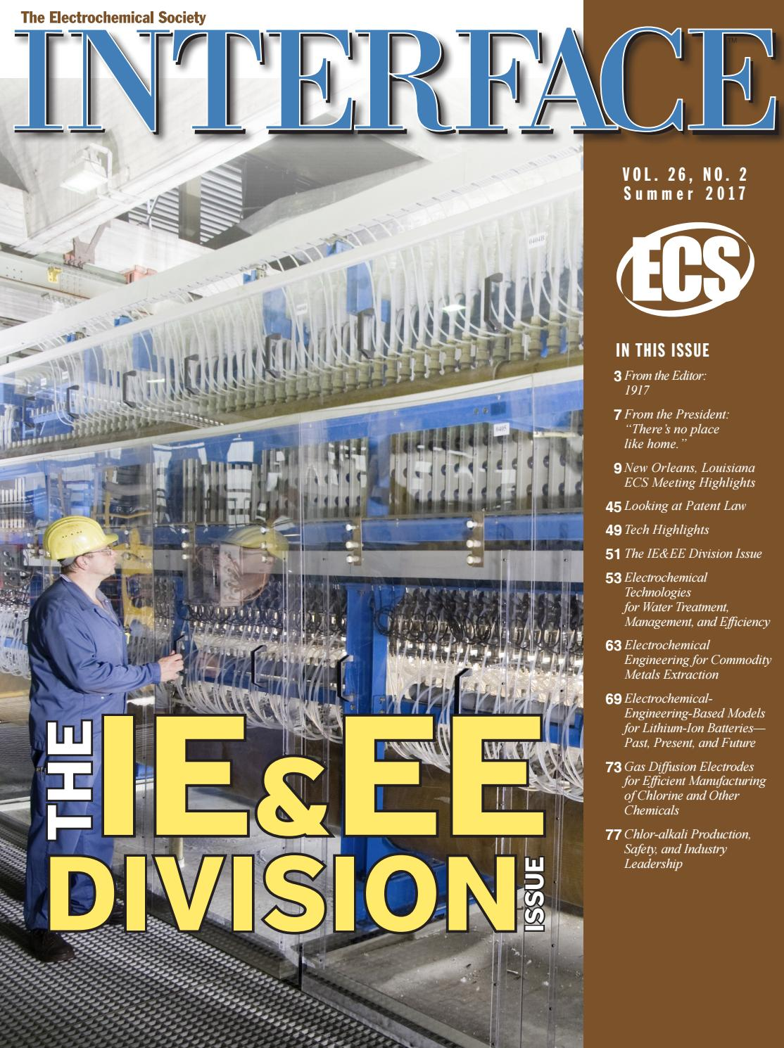 Interface Vol. 26, No. 2, Summer 2017 by The Electrochemical Society - issuu