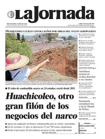 La Jornada 07172017 By La Jornada Demos Desarrollo De Medios Sa