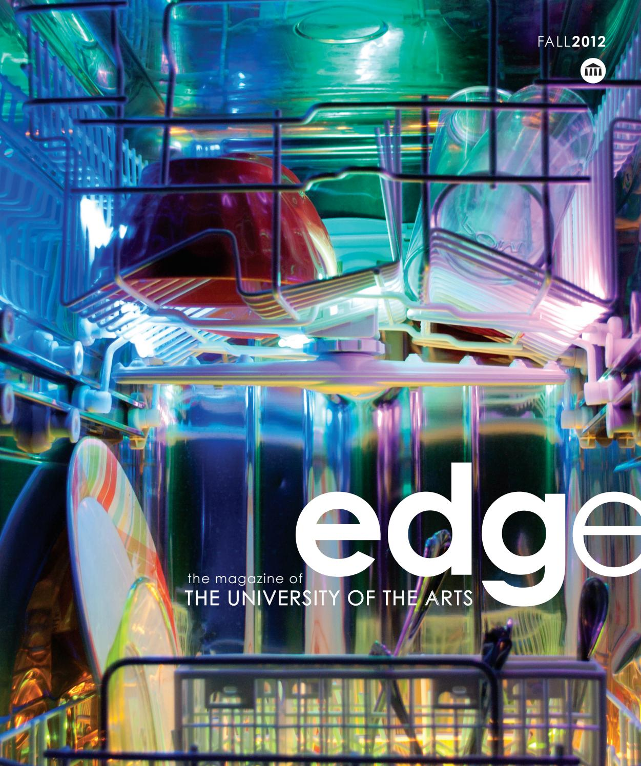 Edge Fall 2012 By The University Of The Arts Issuu