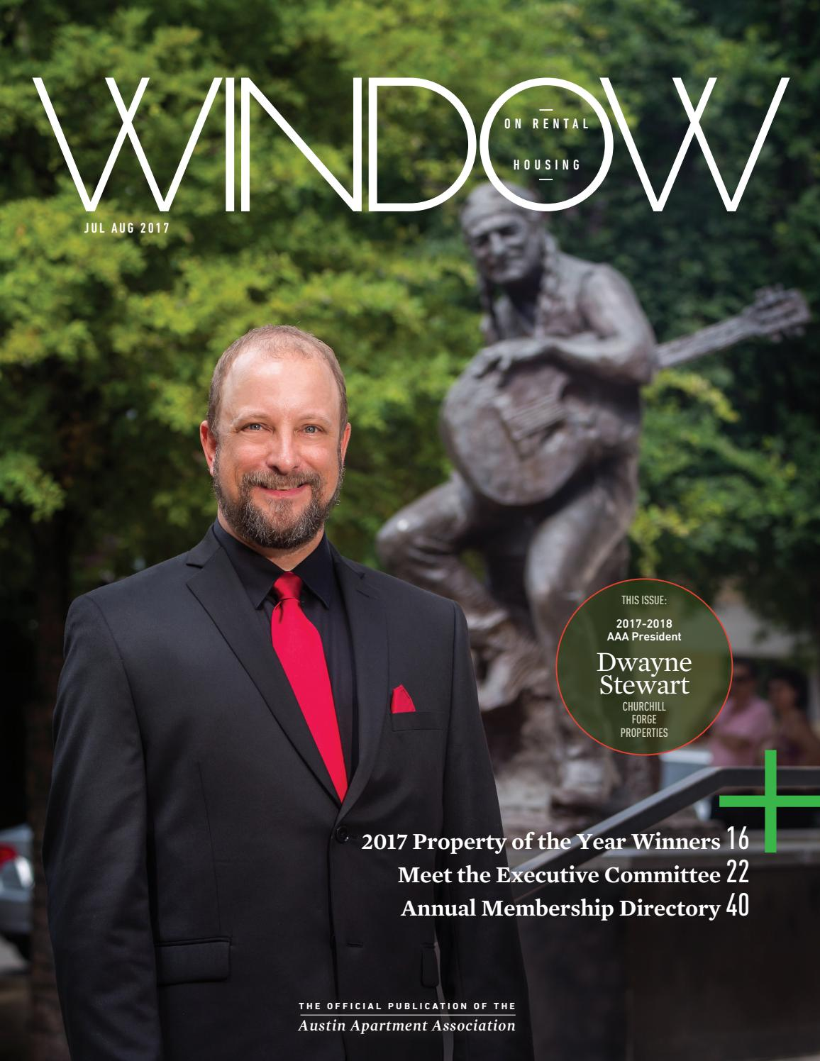 Window On Rental Housing July August 2017 By Austin Apartment Association Issuu