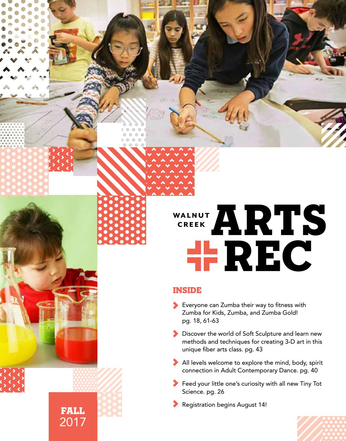 City of Walnut Creek Guide to Arts + Rec - Fall 2017 by City of ...