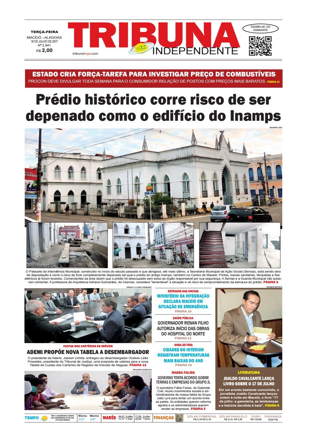 57c8b708474 Edição número 2941 - 18 de julho de 2017 by Tribuna Hoje - issuu