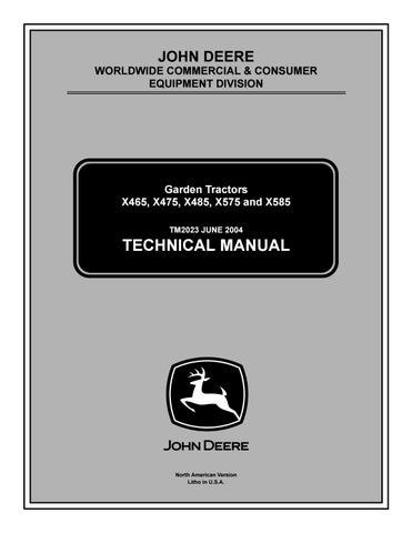 [SCHEMATICS_49CH]  John deere x585 lawn & garden tractor service repair manual by kjsmfmmf -  issuu | John Deere Schematics Engine 675cc |  | Issuu