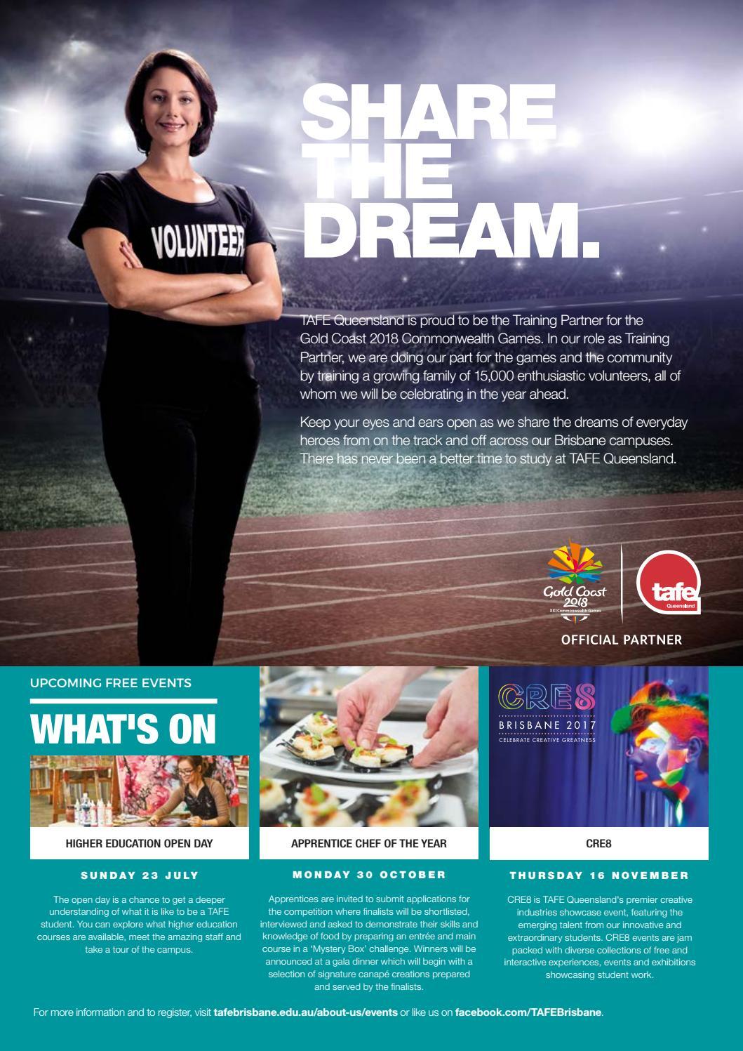 TAFE Queensland MAKE Magazine, Issue 10 by TAFE Queensland - issuu