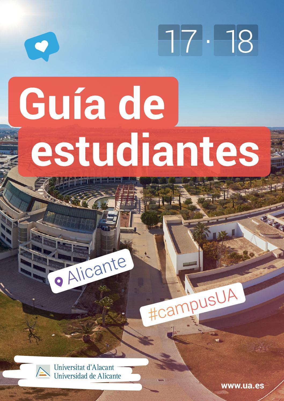 Guía de Estudiantes 17-18 Universidad de Alicante by Oficina de ...